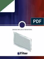 TITUS Catalog - Grilles & Registers