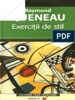 Queneau Raymond Exercitii de Stil
