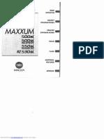 Minolta Dynax 500si Manual