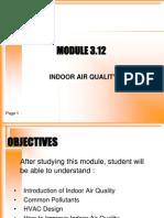 module 3.12 IAQ