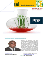 16th February,2015 Daily Global Rice E_Newsletter by Riceplus Magazine