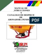 Manual ABONADO Pendular