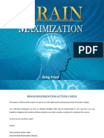 Brain Maximization Action Cards
