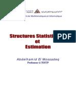 Structures Statistiques Et Estimation