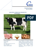 2010 2011 Livestock Products