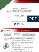 Project Management Core Values