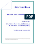 PMI Strategic Plan