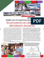 Proyecto Ley Aumento Salarial Docente y Presupuestario Bonaerense