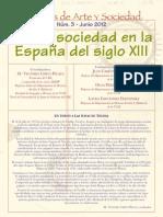 Arte y Sociedad en La España Del Siglo XIII
