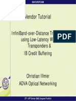 28B3 - Adva Optical Networking - Infiniband Vendor Tutorial