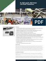 Power Line 3120 Smart Transceiver Datasheet