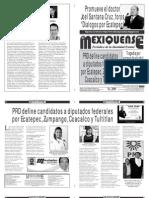 Diario El mexiquense 16 febrero 2015