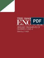 The Books of Enoch Aramaic Fragments of Qumran Cave 4 by J.T. Milik & Matthew Black