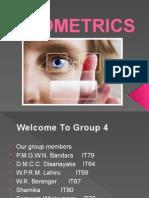 Biometrics Presentation