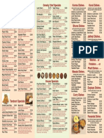 greedy chef take away menu