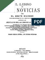 El Libro de Las Novicias-Abate Silvano