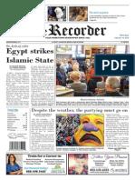 Egipto vs Estado Islamico