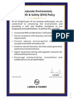 Corporate EHS Policy