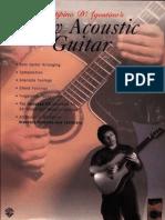 Aprendizaje de guitarra acustica para novatos