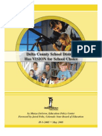 Delta County School District Has VISION for School Choice