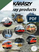 Kárászy Railway Products Web