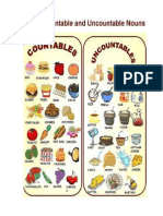 Food Countable ,Uncountable Nouns
