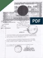 Simsr.somaiya.edu Simsr Adm Mms14 Final Gap Certificate Affidavit