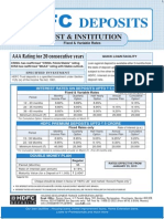 HDFC Fixed Deposits Application Form for TRUSTS & INSTITUTIONS Contact Wealth Advisor Anandaraman @ 944-529-6519