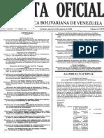 Decreto Ley de Contrataciones Públicas