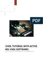VHDL tutorial using Aldec VHDL software