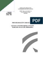Programacion Ingles 5º Colegio de Cadiz