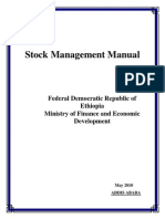 Stock Management and Control