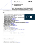 1 Recepción de Regulaciones Generales Obligatorias