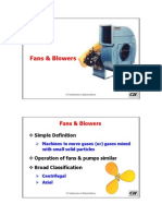 Process Fans & Blowers Power Savings