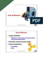 Process Fans & Blowers Power Savings