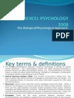biological approach psychology definition