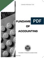 CA CPT account book index