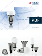 Catalogo Iluminacion LED Verbatim