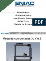 Mesa Coordenadas x y z