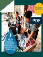 Guía de Herramientas Para La Integración Del Enfoque de Género en Agua y Saneamiento. La Experiencia de Guatemala