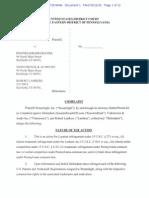 Streamlight v. KnuckleHead - Complaint