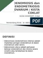 Ppt Lapsus 1 Adenomiosis