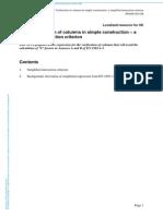 Verificare Stalp Cu Factorii de Interactiune Simplificat