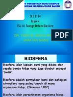 Isu III - Tenaga Dalam Biosfera