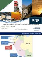 Interconección Perú Ecuador COES-SINAC