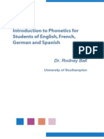 Phonetics for learning German
