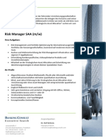 Risk Manager SAA