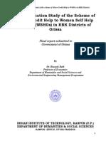 WSHG Final Report