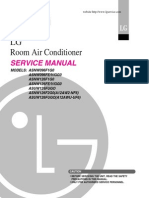 Lg air conditioner service manual