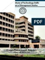 Final Placement Report-Class of 2014_PDF